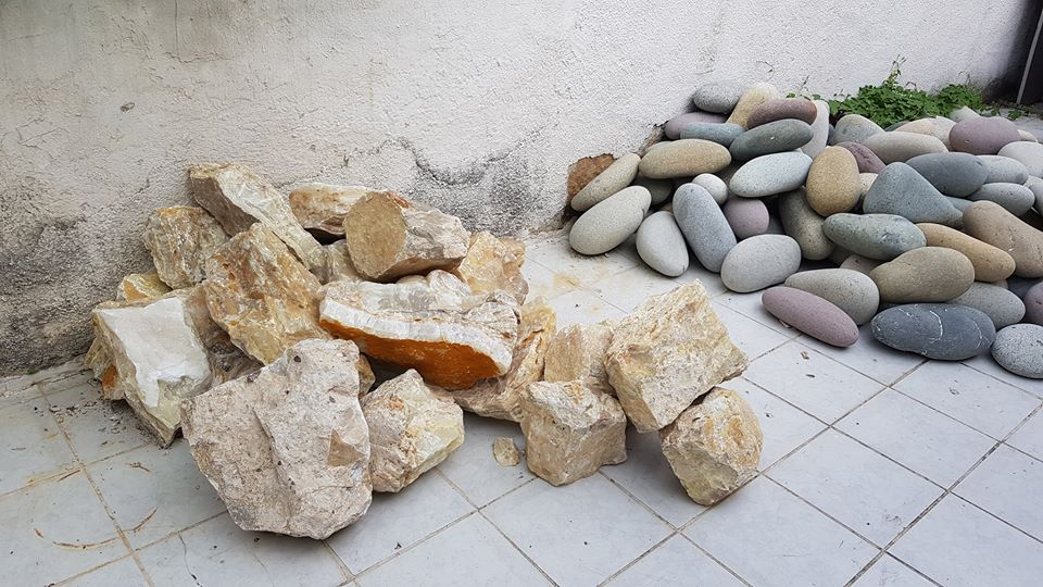 piedra a granel